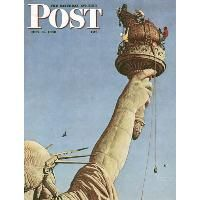 "Norman Rockwell ""Lady Liberty"" (1946)"