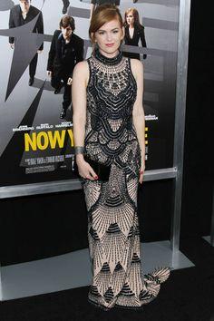 Isla Fisher in L'Wren Scott
