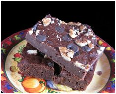 Mashed potato brownies? Who knew leftover mashed potatoes would be the secret to these moist double chocolate treats? Recipe here: http://www.idahoan.com/recipes/double-chocolate-mashed-potato-brownies/#