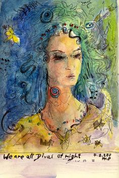 We Are All Divas At Night by Andrea Hupke de Palacio
