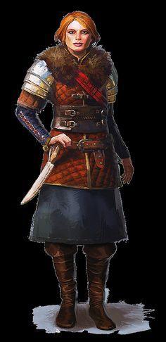 Cerys an Craite  Witcher 3