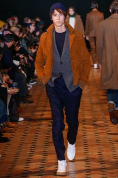 Officine Generale Fall 2018 Menswear Fashion Show Collection
