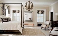 Florida Home - traditional - bedroom - orlando - LGB Interiors-Restoration Hardware Latte: Benjamin Moore Crisp Khaki or Hemp Seed