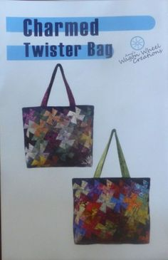 Charmed Twister Bag~Quilting Sewing Pattern PT245