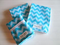 Matching Travel Changing Pad and Two Burp by PreciousLittleTot, $42.99