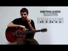 Como aprenderse todas las notas de la guitarra - YouTube