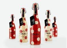 Cute packaging design for Lolea Sangria by Estudio Versus in Spain. Tumblr