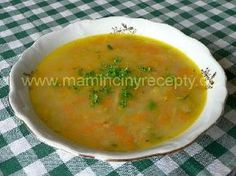 Kvasnicová se zeleninou Cheeseburger Chowder, Thai Red Curry, Food And Drink, Cooking, Ethnic Recipes, Soups, Cucina, Kochen, Cuisine