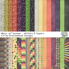 FREE Music of Summer - Glitters & Papers By Dreamn4ever Designs: Challenge Freebie