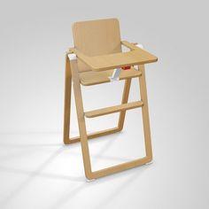 Supaflat high chair Natural  Supaflat