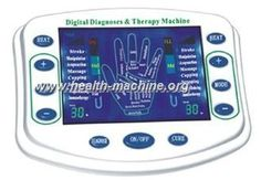 cool Máquina eléctrica cuadrada de la terapia del pulso, máquina de la terapia de la diagnosis de Acupoint