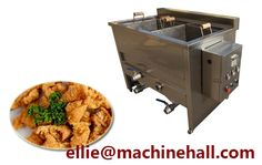 Chicken Meat Frying Machine With High Quality For Sale Email:ellie@machinehall.com Skype:leo.liufan