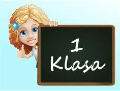 Materiały edukacyjne dla klasy I Polish Language, Art For Kids, Homeschool, Classroom, Teacher, Education, Christmas Ornaments, Holiday Decor, Children