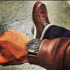 panerai & redwingshoes