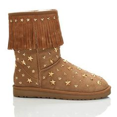 UGG Womens Chestnut Boots 3044 Short Jimmy Choo