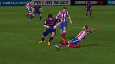 EA FIFA 15 Game Screenshots