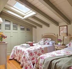 Ideas, soluciones e inspiración para decorar habitaciones tipo buhardilla y desván