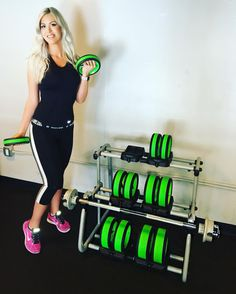 Alexandra showing off #NuBells‬  at Snap Fitness Daly City on Mission Street in San Francisco. Stop in and give them a try yourself! It will change the way your body feels about working out.      WANT IT. DO IT. NUFIT      #MotivationMonday   #Motivation  #Pro530   #Innovation #NuFit