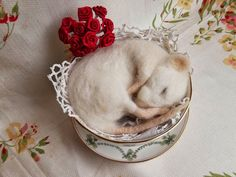Love, Mrs Plop: How to make needle felted legs & feet for a sleeping mouse intermediate level