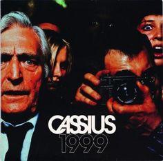 Alexandre Courtès. Cassius, 1999, 1999. Pochette de vinyle, label Virgin © DR, Musée des Arts Décoratifs