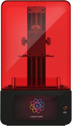 New Liquid Crystal Hi-Res with  97 micron XY resolution screen  & built platform 160x120x200(H)mm
