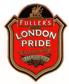 Fuller's - London Pride Vintage Labels, Vintage Signs, English Beer, Beers Of The World, Best Of British, Celtic Culture, Tower Of London, Fun Drinks, Ale