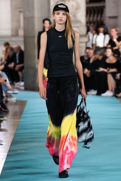 The Top Runway Trends of Spring 2017: Neon Dreamin' - Off-White