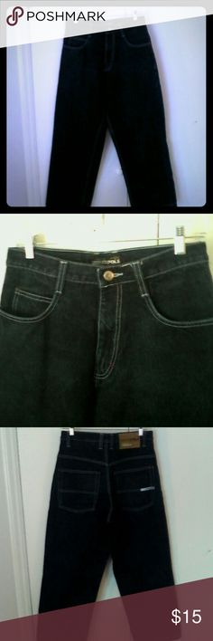 South Pole Mens Denim Jeans 29 Straight Leg This is a pair of men's jeans by South Pole in a size 29 100% cotton, 5 pocket style Straight leg Dark stonewashed blue in color In excellent used condition South Pole Jeans Straight