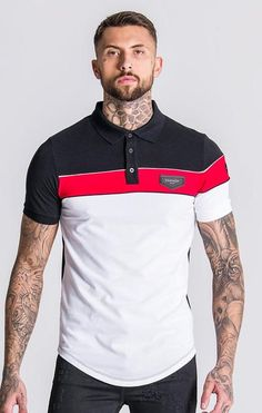 Mens Polo T Shirts, Polo Tees, Camisa Polo, Latest Mens Fashion, Urban Fashion, Polo Shirt Design, Lacoste, Hot Dress, Streetwear Fashion