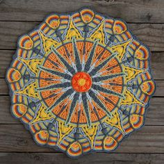 Crochet Overlay Mandala  No. 6 Pattern PDF by CAROcreated on Etsy