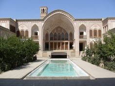 Ameri House, Kashan, Iran built in the 1700s [1024 x 768] - Cool Houses Pictures And Dream Home Unique Designs, Big, Medium Size And Small House Design Ideas