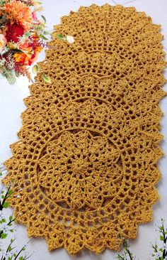 Crochet Doilies, Crochet Stitches, Amigurumi Patterns, Crochet Patterns, Manta Crochet, Crochet Projects, Top Pattern, Floral, Farmhouse Rugs