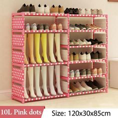 WEEKLY DEAL - Multi Layer Shoe Rack King Bedding Sets, Luxury Bedding Sets, Shoe Storage, Storage Shelves, Diy Bag Organiser, Linen Bedding, Bed Linen, Small Closet Space, Small Entrance