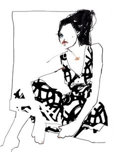 design is mine : isn't it lovely?: ten images of inspiration : fashion illustration.