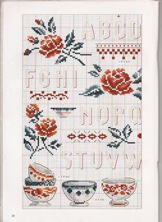petit cadeau... Brodez votre décor champêtre... Façon DIGOIN - Lilie Griottes