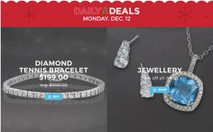 Sears Canada Holiday Daily Deals: Save 80% off Diamond Tennis Bracelet 75% off Jewellery 60% off Handbags & Ac... http://www.lavahotdeals.com/ca/cheap/sears-canada-holiday-daily-deals-save-80-diamond/152335?utm_source=pinterest&utm_medium=rss&utm_campaign=at_lavahotdeals