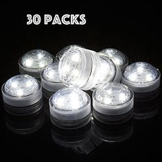 AceList® 30 Pieces Packed Waterproof LED Candle Wedding Decoration Submersible LED Tea Lights (White) AceList http://www.amazon.com/dp/B013HE45EM/ref=cm_sw_r_pi_dp_Hb1cxb1EZ73CW