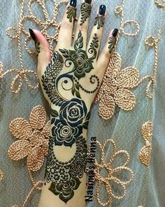 Arabic Eid Mehndi Designs for Hands