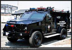 SWAT VEHICLE FROM LAPD... might be cool if it wasn't swat.