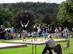 Highland dance judging Peebles HG.