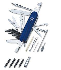 Cybertool 34 Pocket Knife, Swiss Army, Swiss Army Cybertool 34 Pocket Knife