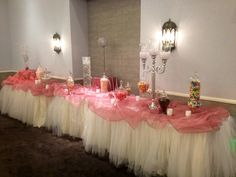 Candy Table for Quinceanera