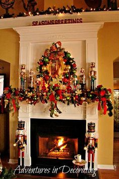 Christmas on My Mind - Are you crazy like me and already ready to start decorating for the holiday season?  Do you change the look of your holiday mantel comple…
