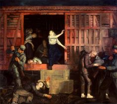 George Bellows The White Hope – Art Blart Rhode Island, Combat Boxe, Gothic Elements, Ashcan School, Hope Art, Most Famous Artists, Old Master, World War I, Artist At Work