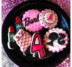 Festa aniversário 4 anos Biscoitos Confeitados