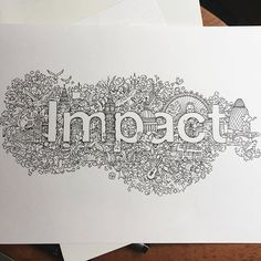 WIP shot of the doodle I did for @bbcnews - Impact with Yalda Hakim. Thanks again for having me!