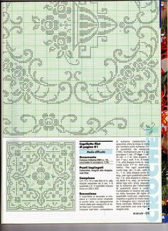 bedspread, pillows and curtain Filet Crochet Charts, Crochet Diagram, Crochet Motif, Crochet Doilies, Crochet Flowers, Crochet Patterns, Crochet Curtains, Filets, Irish Crochet