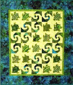 Quilt Pattern - Baby Honu