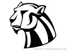 Panthera Vector Art