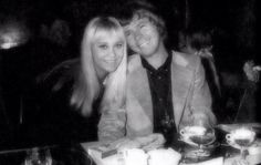 Agnetha and Björn in 1969